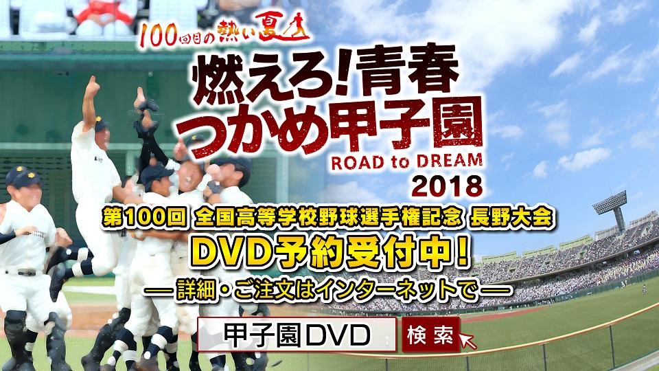 第100回高等学校野球選手権記念 長野大会 DVD予約受付中!