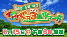 イイネ!新潟・長野・静岡ぐっ3県ツアー
