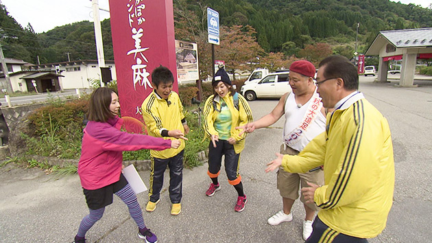 駅テレ(秋の大遠足2016 ~善光寺白馬電鉄 夢の跡を追って~ 後編)