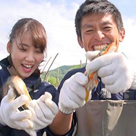 旬食ハンター!~山と川の恵み~(5月20日土曜日 あさ9時30分放送)