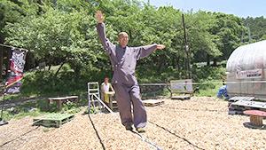 スゴ技お坊さん直撃御免!| 浄光寺 スラックラインの世界チャンピオン!?(駅テレ)
