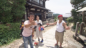 旧山口村で信州探し(駅テレ)