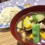 「夏野菜と鶏肉のつけ麺」2017年7月29日放送
