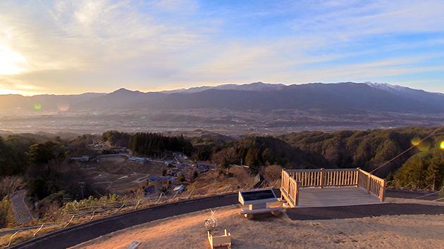 もっと!信州77「豊丘村編」| 福島てっぺん公園から見た伊那谷
