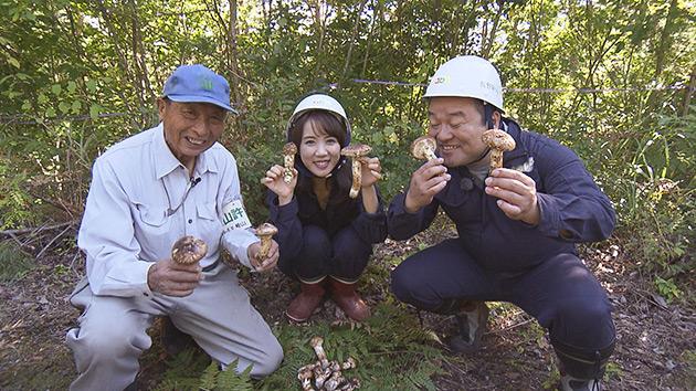 松茸収穫|旬食ハンター! ~山と海の幸をゲットせよ~(10月6日 土曜 あさ9時30分)