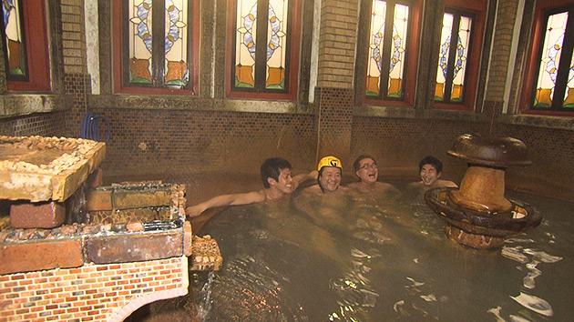 金具屋 浪漫風呂 超レトロ温泉ツアー!~平成最後の年末の男子温泉同好会~