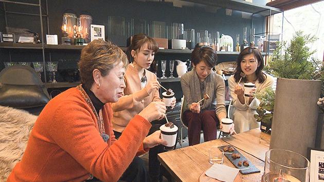 女子アナ参戦(楠原・萩原)|X'mas女子会~美と健康と食を求めて~