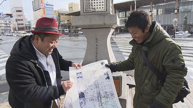 古地図でGO!! ~ 天与の道 善光寺表参道の歩き方 ~
