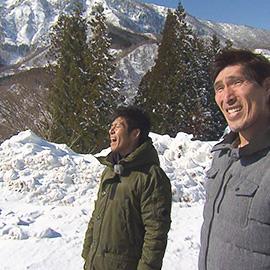 篠原信一と三四六の雪山合宿in秋山郷!(2月9日 土曜 あさ9時30分)