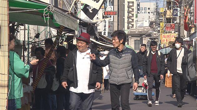 築地場外|特急あずさで行く!豊洲&築地ツアー ~ニッポンの新旧台所はイマ?~