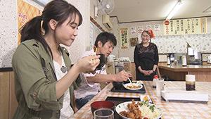 わかさと食堂|三四六&大槻瞳のぶらぶら散歩 ~長野駅東エリア編~
