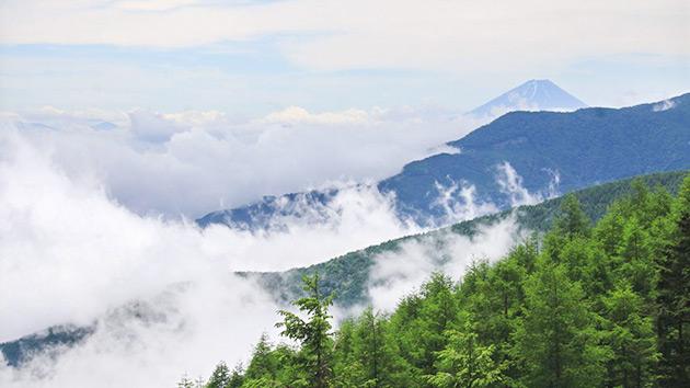 もっと!信州77「富士見町編」 富士見町からの富士山
