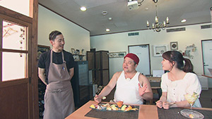 納涼スイーツ(KENzo cafe&bar) 夏を楽しむW特集! ホタルの乱舞&納涼スイーツ