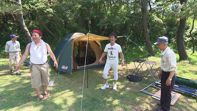 大潟キャンプ場(三四六・ヤポンスキー)|麗子センセーと行く!夏を満喫する上越キャンプの旅