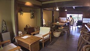 もっと!信州77「長和町編」 石窯cafe KOKUYA 店内