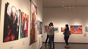 もっと!信州77「南牧村編」|東京展コミックアート in 南牧村 18人の若き絵師たちの饗宴