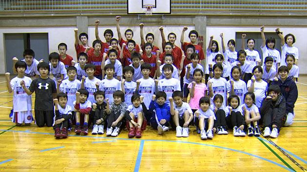 『東御市バスケットボール教室』2月6日放送