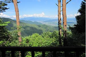 森林の里親促進事業2017 青木村 森林整備活動
