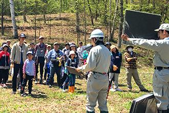 「森林の里親促進事業」青木村での植樹活動報告