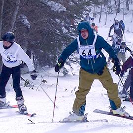 氷雪の果てのゴールへ  第27回氷上 トライアスロン小海大会 (2月20日(土)午後3時55分放送 )