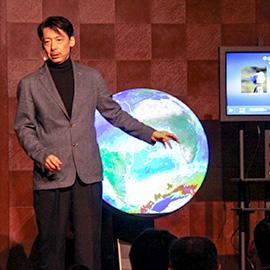 地球を守ろう!プロジェクト特別番組 「宇宙飛行士の目線で地球をみてみよう!」 2月20日(土) 午後4時25分 放送
