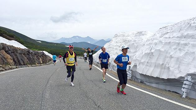 雪壁を駆け抜ける 第11回乗鞍天空マラソン(7月3日(日)午後3時55分放送)