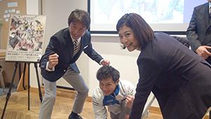 荻原次晴が全力応援!軽井沢からピョンチャンへ