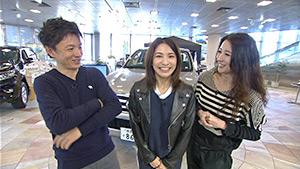 信州をカーナビ UぐるっTV(信州食材フレンチ&東京モーターショー)