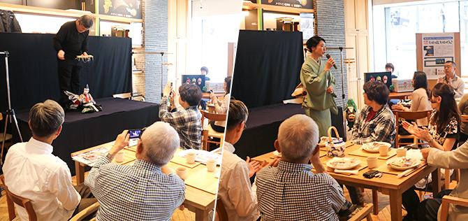 第18回ふるさとCM大賞NAGANO・大賞受賞記念イベント「~いいだ いいら♪~ 飯田の人形劇とお菓子めぐり」