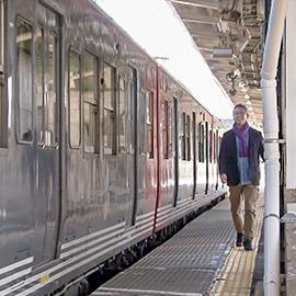 北しなの線途中下車 黒姫駅編(11月18日 土曜 午前11時)