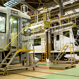 潜入!鉄道車両のお医者さん JR長野総合車両センター(12月23日 土曜 午前11時)