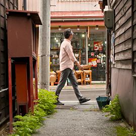 下諏訪町・〝空き店舗ゼロ〟の古くて新しい商店街(5月26日 土曜 午前11時)