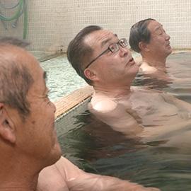 諏訪市 温泉共同浴場のスゴヂカラ(5月4日 土曜 午前10時45分)