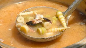 ネマガリダケのサバ水煮缶詰 味噌汁 これが信州のネマガリダケだ!