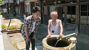 須原宿水舟|阿寺ブルーに染まる夏