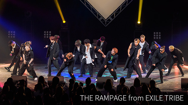 THE RAMPAGE from EXILE TRIBE|abn SUPERLIVE 2018 ライブフォト