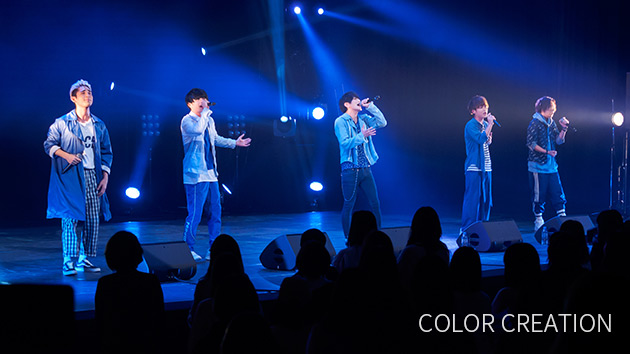 COLOR CREATION|abn SUPERLIVE 2018 ライブフォト