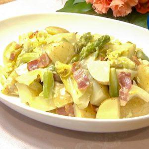 蒸し野菜のポテサラ(5月2日 水曜 よる6時55分)