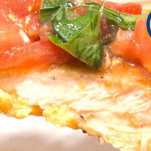 ビックチキンピカタのトマトソース(6月13日 水曜 よる6時55分)