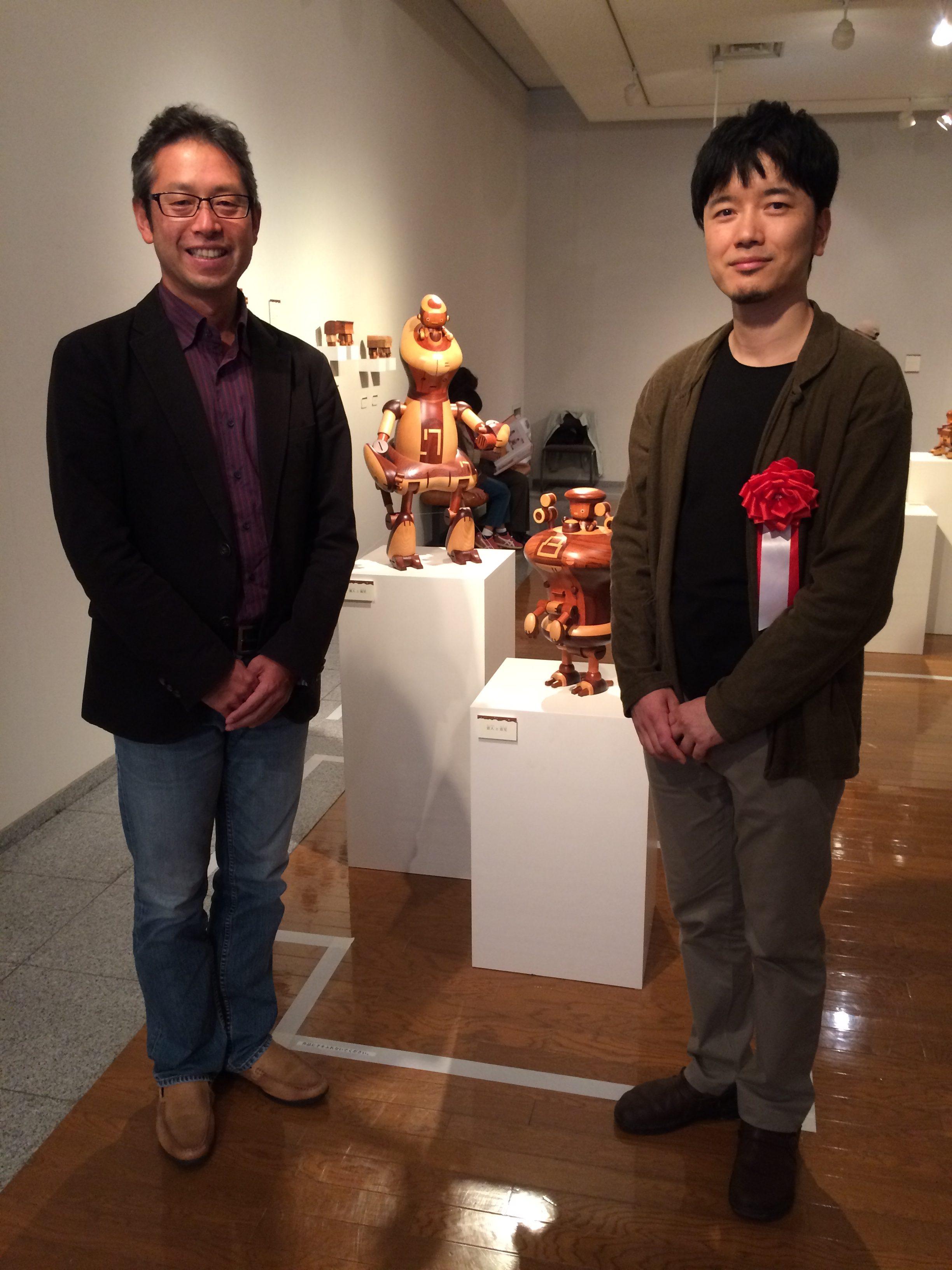 中川岳二さんの展覧会